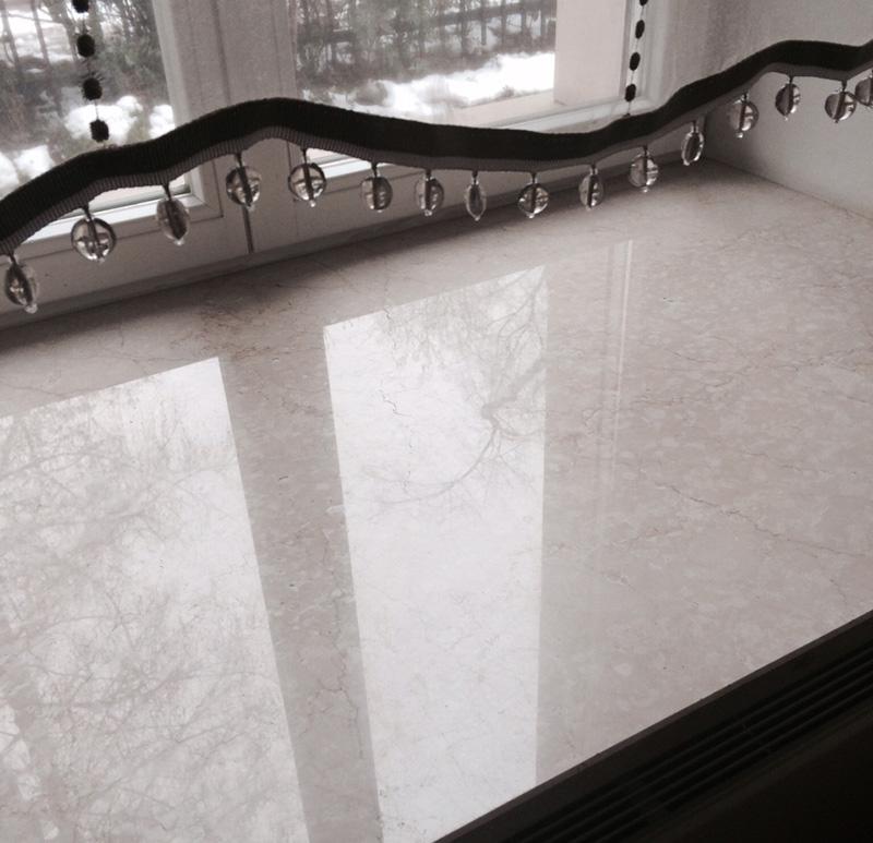 parapet marmurowy